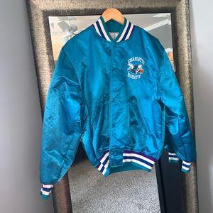 Vintage Starter Jacket Charlotte Hornets Jacket